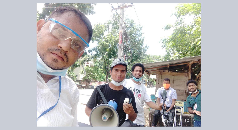 Charity Work - Mass Awareness during Covid Pandamic